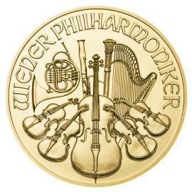 1/2 Unze Wiener Philharmoniker Gold 2015