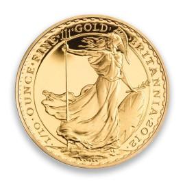 1/10 oz Britannia Gold 2015