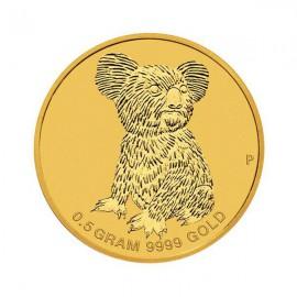 5 g  Gold Mini Koala 2015