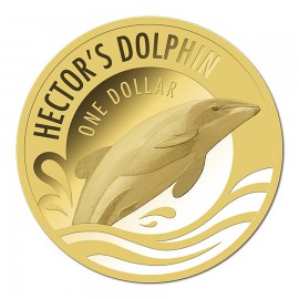 0,5 g Gold PP Hector Dolphin 2016 im Blister
